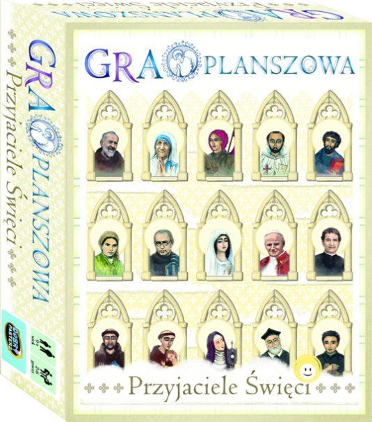 Przyjaciele Święci gra planszowa Wydawnictwo Pasterz