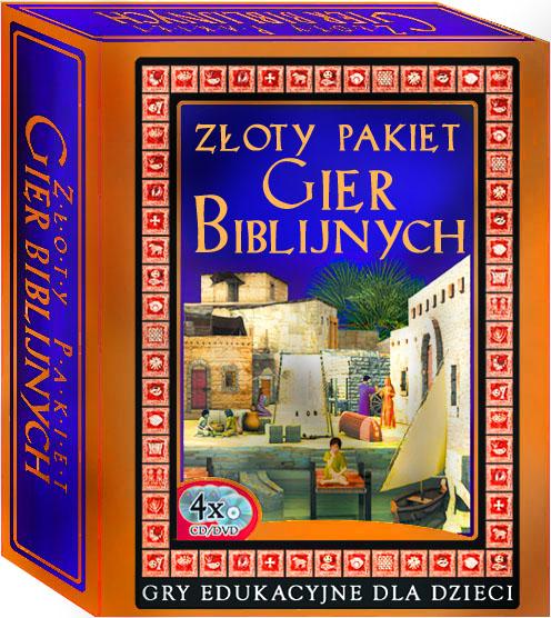 Złoty Pakiet Gier Biblijnych gry religijne
